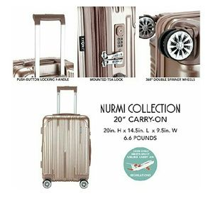 "Traveler's CLUB luggage NURMI collection TPRC 20"""
